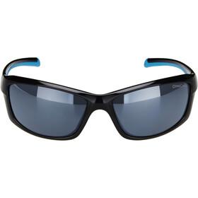 Alpina Dyfer Glasses, black-cyan/black mirror
